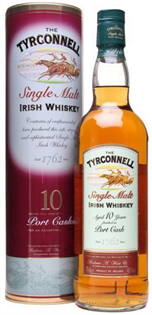Tyrconnell Irish Whiskey 10 Year Port Cask Finish 750ml